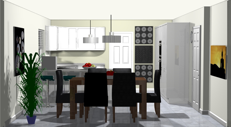 Kitchen Design Visual Astley