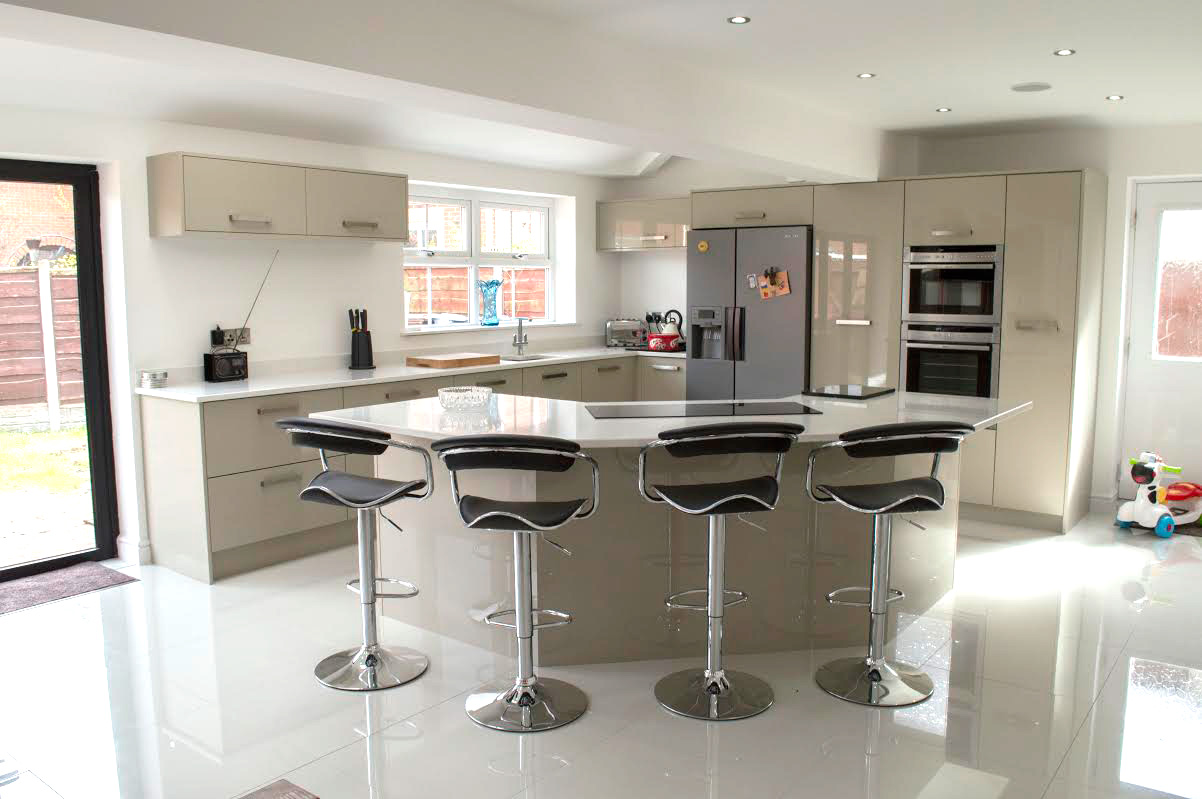 new design of kitchen designer new kitchen at their home in leigh 3482