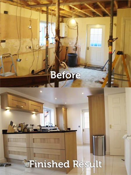 Kitchen Construction Service : Kitchen remodelling construction and building services